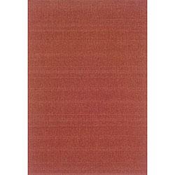 Laguna Red Rug (7'3 x 10'6)