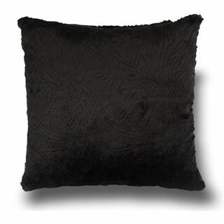 Faux Fur 18-inch Pillow