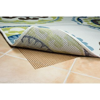 "Style Haven Brown Indoor/Outdoor Area Rug Pad - 5'5"" x 7'11"""
