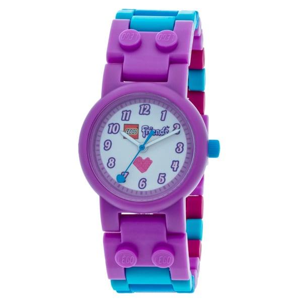 LEGO Friends Olivia Kids Interchangeable Links w/Mini Doll Watch