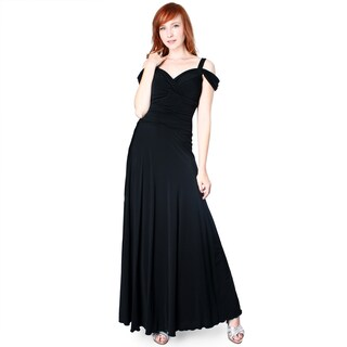 Evanese Women's Off-the-Shoulder Long Gown (More options available)