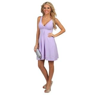 Evanese Women's Short V-neck Dress (More options available)