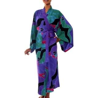 Turquoise Ocean Handmade Artisan Designer Women's Clothing Fashion Lavender Green Purple Black Red B|https://ak1.ostkcdn.com/images/products/4032261/P12053757.jpg?impolicy=medium
