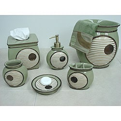 Sherry Kline 'Encircle' Bath Accessory 6-piece Set - Thumbnail 0