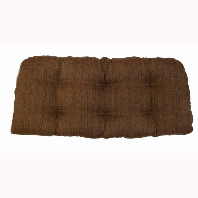 Fiddlestix Indoor Wicker Settee Cushion