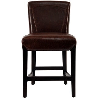 Monroe Leather Counter Stool Free Shipping Today