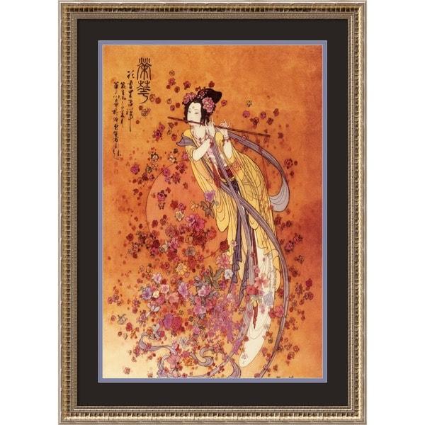 Shop Framed Art Print Goddess Of Prosperity By Chinese