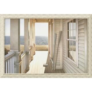 Framed Art Print 'Serenity' by Daniel Pollera 40 x 28-inch