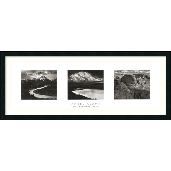 Framed Art Print X27 Our National Parks Triptych