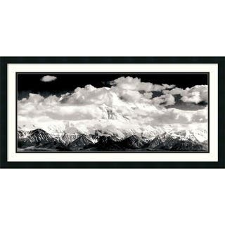 Framed Art Print 'Mount McKinley Range, Clouds, Denali National Park, Alaska, 1948' by Ansel Adams 3|https://ak1.ostkcdn.com/images/products/4039314/P12059904.jpg?impolicy=medium