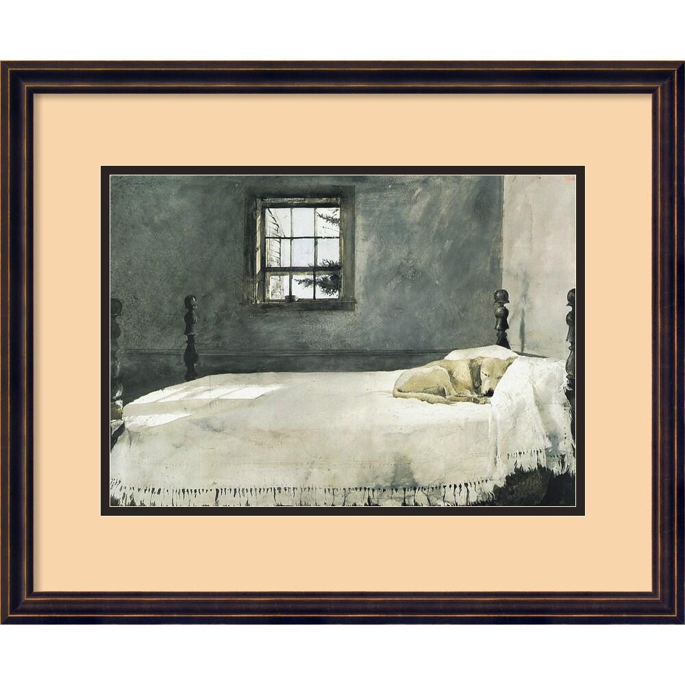 Andrew Wyeth Master Bedroom Framed Art Print