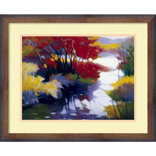 Tadashi Asoma 'Indian Summer' Framed Art Print