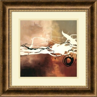 Framed Art Print 'Copper Melody II' by Laurie Maitland 19 x 19-inch