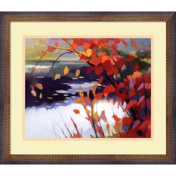 Tadashi Asoma 'Afternoon Calm' Small Framed Art Print
