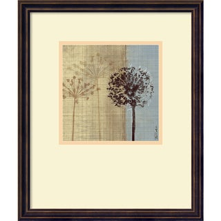 Framed Art Print 'In the Breeze II' by Tandi Venter 16 x 19-inch