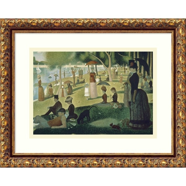 Shop Georges Seurat 'Sunday Afternoon On The Island Of La