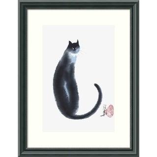 Cheng Yan 'Chinese Cat II' Framed Art Print