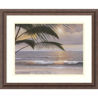 Framed Art Print 'Paradiso' by Diane Romanello 23 x 19-inch
