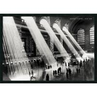 Framed Art Print Grand Central Station, New York, 1934 by Hulton 38 x 26-inch