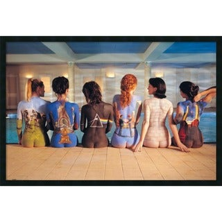 Framed Art Print Pink Floyd Back Catalog 38 x 26-inch