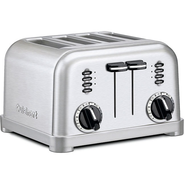 Cuisinart CPT-180 4-Slice Metal Classic Toaster - Brushed...