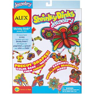 Alex Toys Shrinky Dinks Jewelry Kit