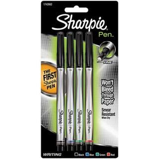 Sanford Fine Point Sharpie Pens (Pack of 4)