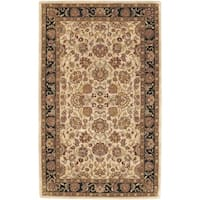 Hand-tufted Beige New Zealand Wool Area Rug - 5' x 8'