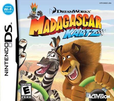 Nintendo DS - Madagascar Kartz