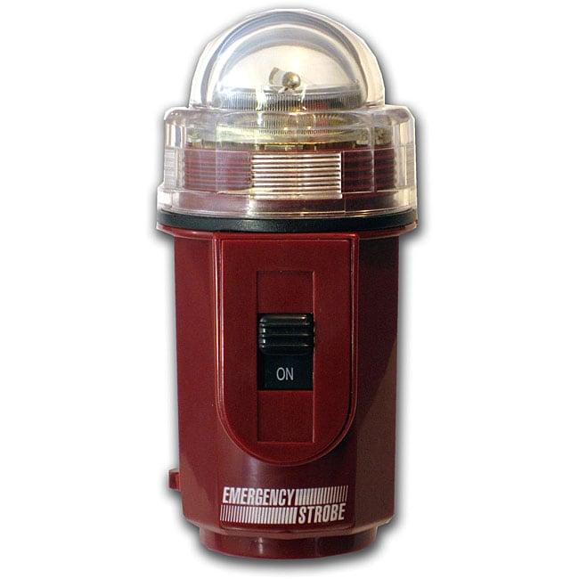 Emergency Strobe Xenon Plastic Case Flashing Red Safety Signal