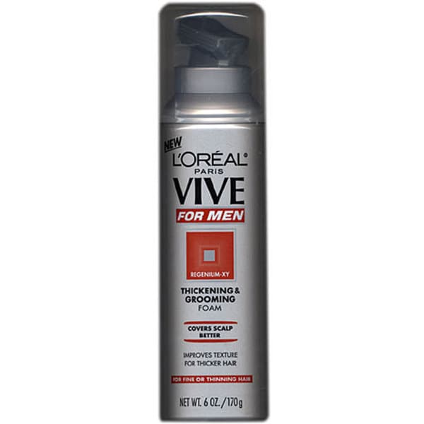 L'Oreal Vive Men's 6-ounce Thickening/ Grooming Foam