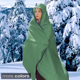 Superinsulator SPACE Brand All-weather Olive Blanket (Pack of 2)