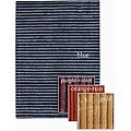 Artist's Loom Hand-tufted Contemporary Stripes Rug (5' x 7'6) - 5' x 7'6