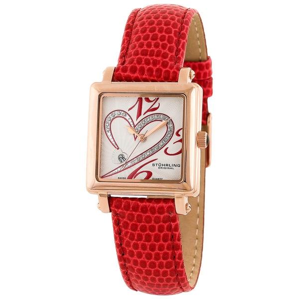 Stuhrling Original Women's Courtly Diamond Watch