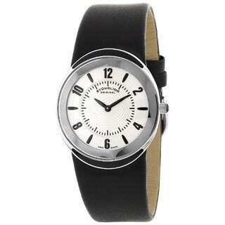 Stuhrling Original Movida Men's Water-Resistant Oval Swiss Quartz Watch