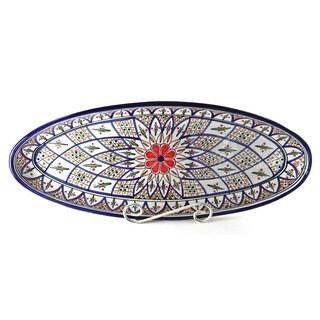 Tabarka 21-inch Extra Large Oval Platter (Tunisia)
