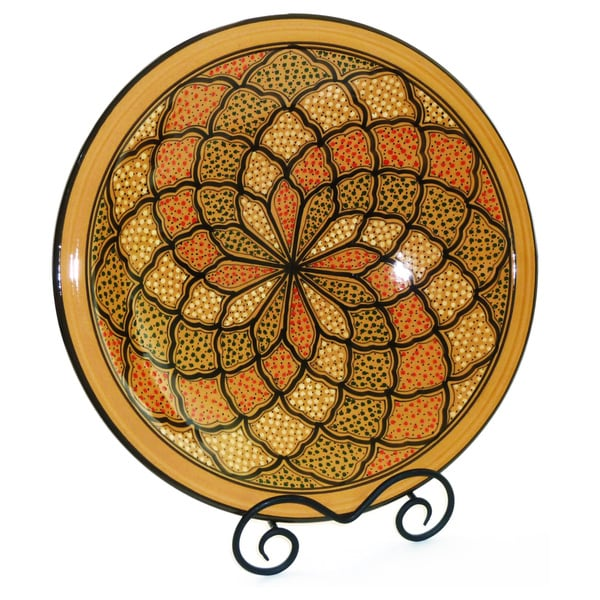 Honey Design Large Serving Bowl (Tunisia)