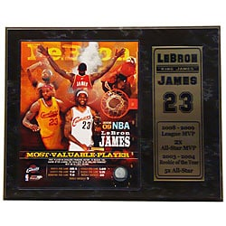 LeBron James Most Valuable Player Photograph
