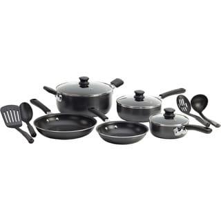 WearEver C957SC74 Grey 12-piece Nonstick Cookware Set
