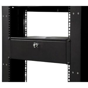 StarTech.com Locking storage drawer - 3U 9in - deep - Rackmount