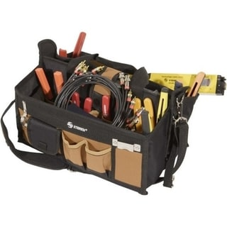 """Steren 15 Pocket Tool Bag with 16"""" Center Tray Compartment"""