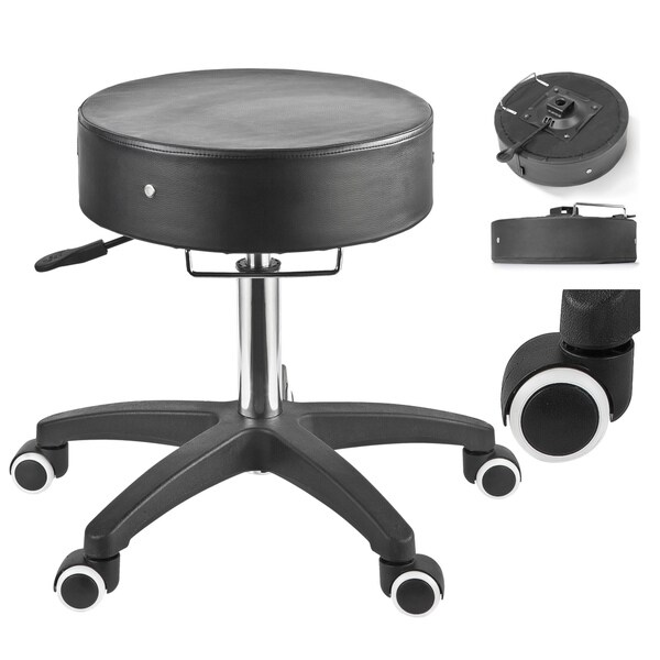 Master Massage SpaMaster Essentials Adjustable Rolling Stool - Free Shipping Today - Overstock.com - 12066090  sc 1 st  Overstock.com & Master Massage SpaMaster Essentials Adjustable Rolling Stool ... islam-shia.org