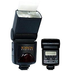 Rokinon TTL Pentax-Compatible Power-Saver Digital Camera Flash