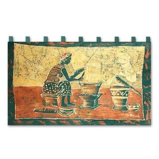 Batik 'Fufui Beih' Wall Hanging