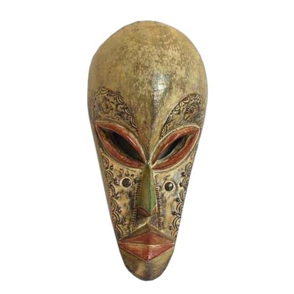Wood 'Forgive Me' Mask