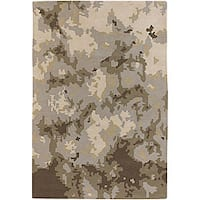 Artist's Loom Hand-tufted Contemporary Abstract Wool Rug (7'9x10'6) - 7'9 x 10'6