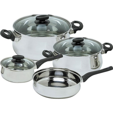 Magefesa Deliss 7-piece Stainless Steel Cookware Set