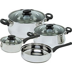 Magefesa Deliss 7-piece Stainless Steel Cookware Set