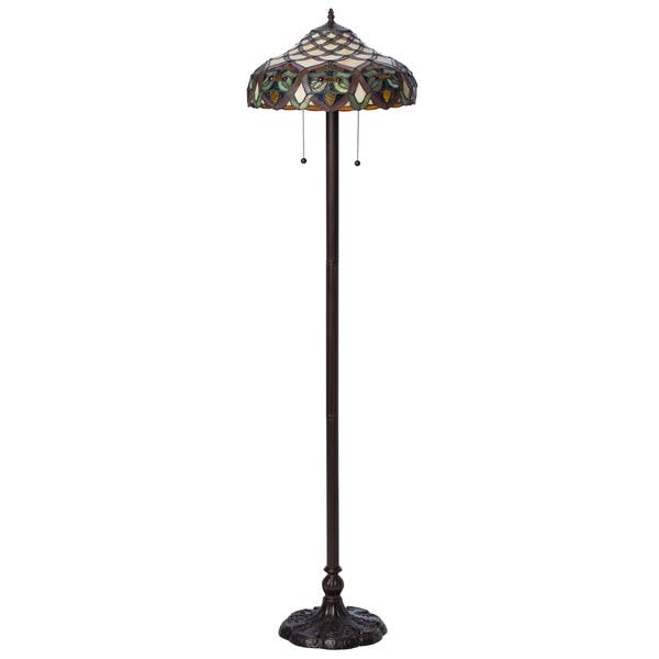 Tiffany Style Ariel Floor Lamp Free Shipping Today