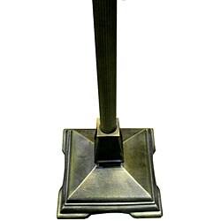 Tiffany-style Mission Floor Lamp - Thumbnail 2